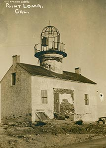 Postcard of Lighthouse