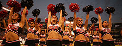 Image of SDSU Aztecs Football Cheerleaders