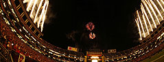 Image of SDSU Aztecs Football Fireworks