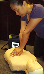 Photo of CPR demonstration