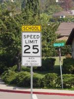 Photo of School Zone
