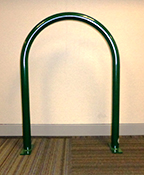 Photo of u-shaped bike rack