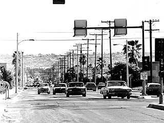 Mission Boulevard, circa 1972 - Before Undergrounding