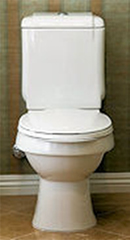 Photo of high efficient toilet