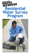 Cover of Residential Water Survey Program flyer
