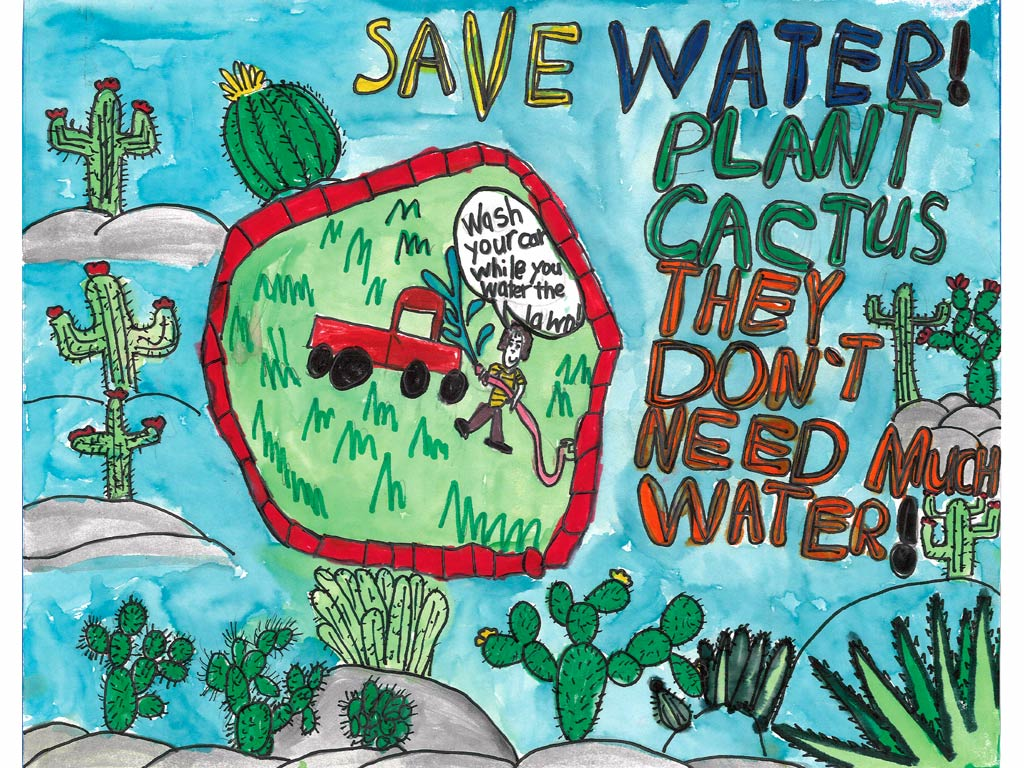 Water Conservation Poster Contest Wallpaper | City of San ... Good Posters On Water Conservation