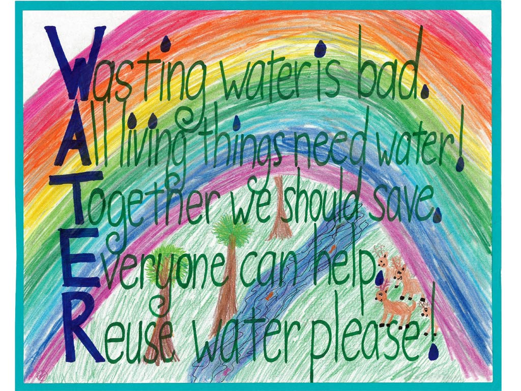 Water Conservation Poster Contest Wallpaper | City of San Diego ...