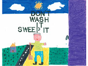 Image of Don't Wash It Sweep It Poster