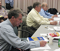 Photo of Independent Advisory Panel Members at Work