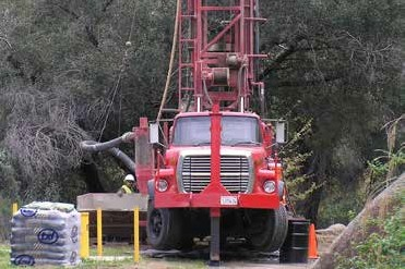 Photo of a Drilling Truck