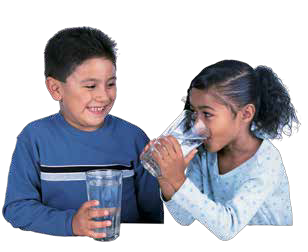 Photo of Children Drinking Water