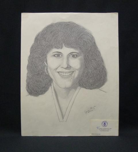 Pencil Sketch Of Mayor Susan Golding