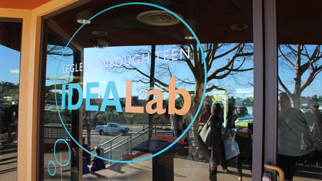 The Legler Benbough Teen IDEA Lab at the Valencia Park/Malcolm X Library
