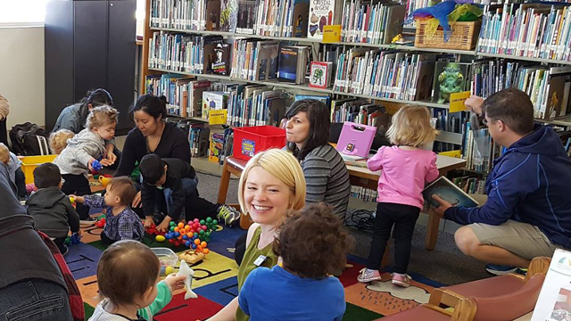 Storytime at the North Park Library