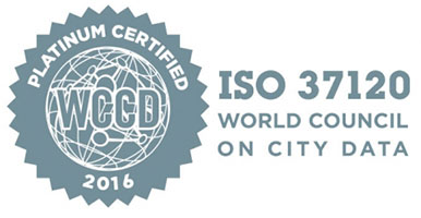 ISO 37120 Platinum certification from the World Council