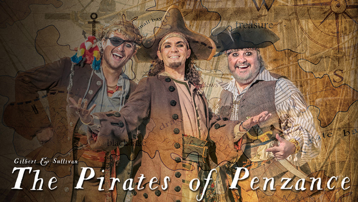 Photo of three pirates
