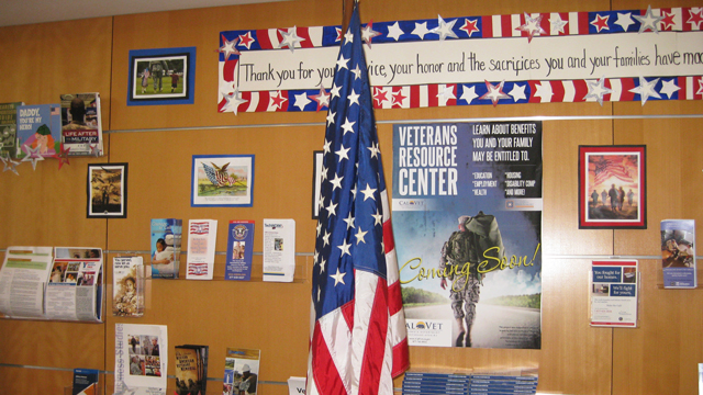 Veterans Resource Center at the Point Loma/Hervey Library