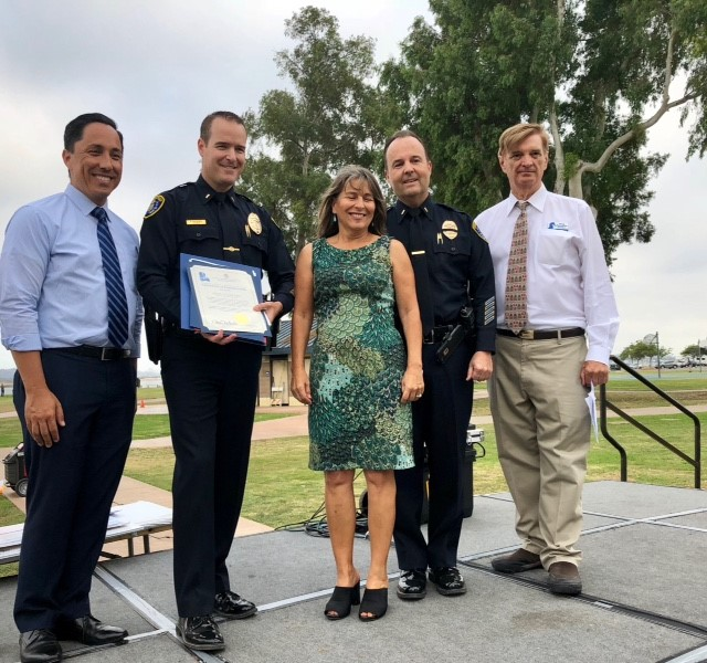 Pacific Beach Town Council annual Police and Emergency Services Appreciation Night (PAESAN) - September 26, 2018