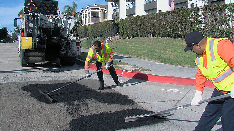Street Resurfacing And Pothole Repair Street Division City Of San Diego Official Website