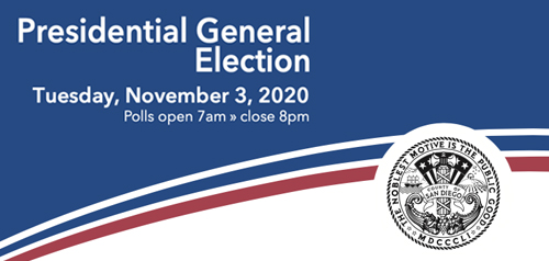 2020 Elections Office Of The City Clerk City Of San Diego Official Website
