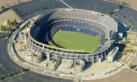 Photo of Qualcomm Stadium from Aerial View
