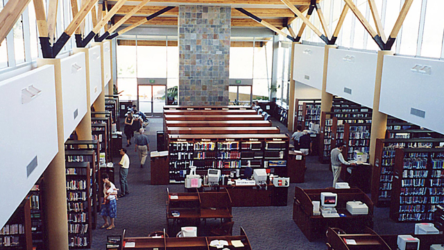 Layout view of the Rancho Bernardo Library