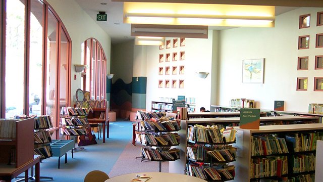 Children's area at the Rancho Peñasquitos Library