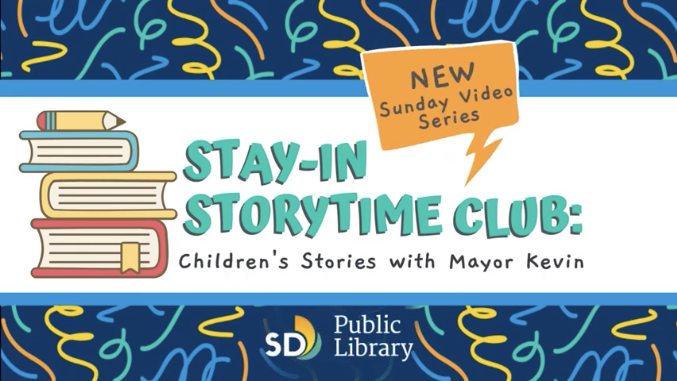 Mayor Kevin Stay-in storytime club