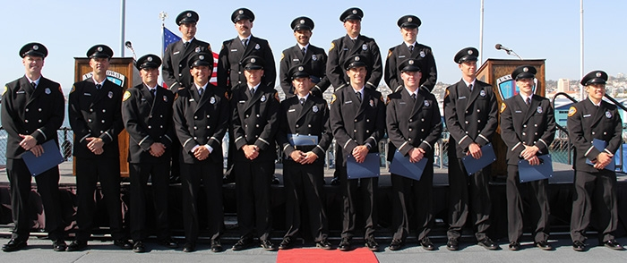 SD Fire-Rescue Dept. Paramedic Program graduating class of 2018