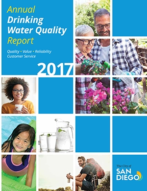 Cover of 2017 Drinking Water Quality Report