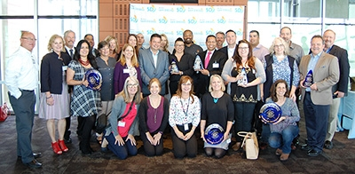 2019 Business Waste Reduction & Recycling Awards participants