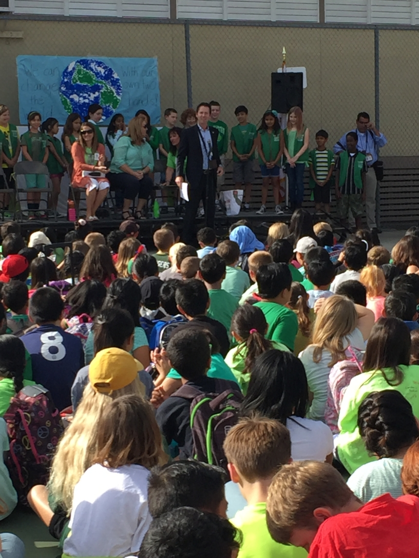 Dingeman Elementary School Earth Day