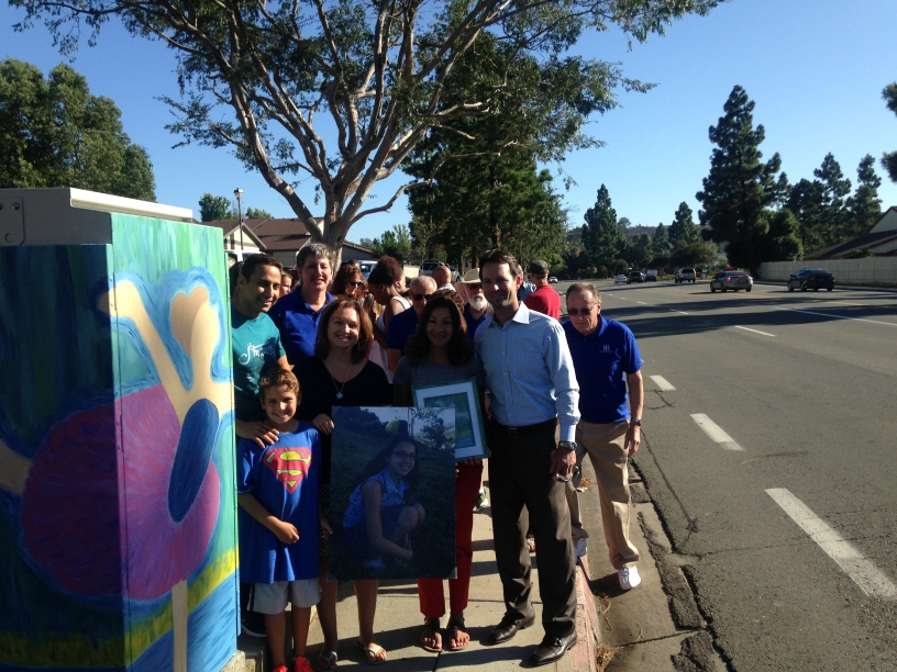 9/3/15 Utility Box Dedication