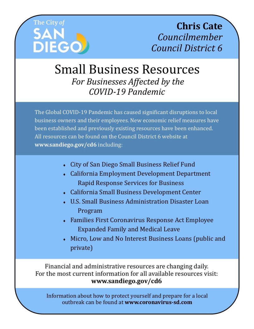 Small Business Resource Flyer