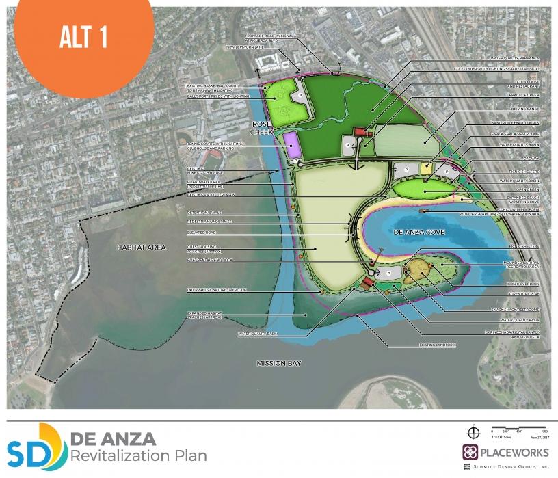 De Anza Cove Amendment to the Mission Bay Park Master Plan ... De Anza Map on