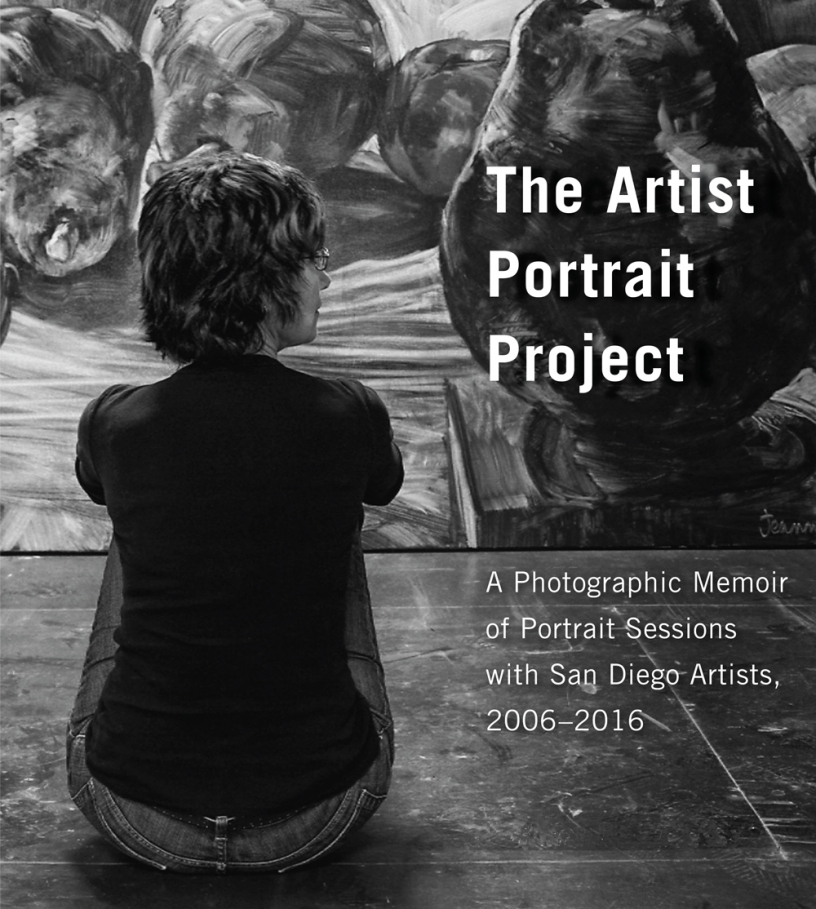 Artist Portrait Project exhibition poster