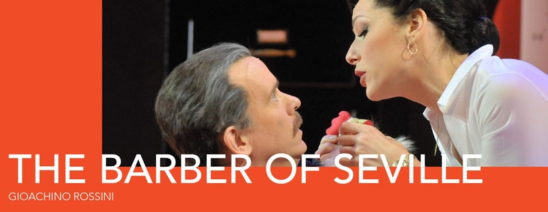 The Barber of Seville graphic by SD Opera