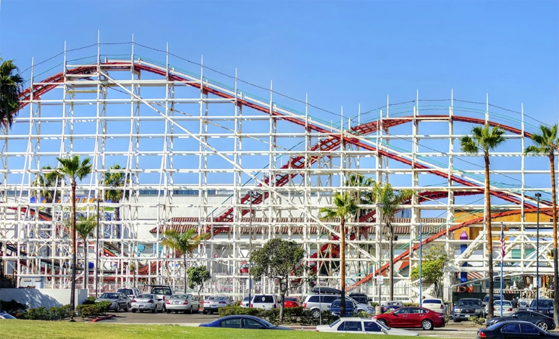 Photo of Belmont Park Roller Coaster