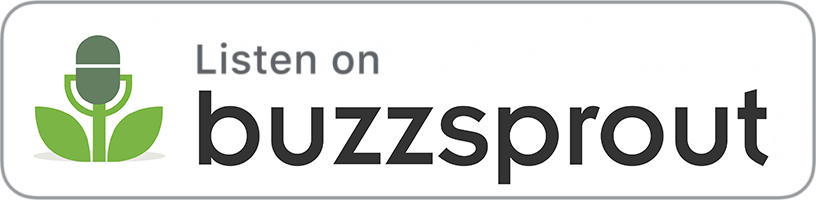 Buzzsprout podcast button