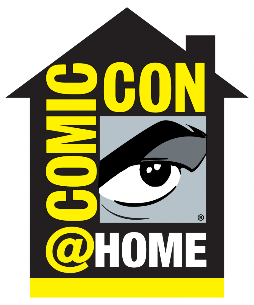 Comic Con @ Home logo