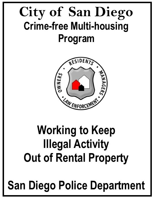 Crime-Free Multi-housing | Police | City of San Diego