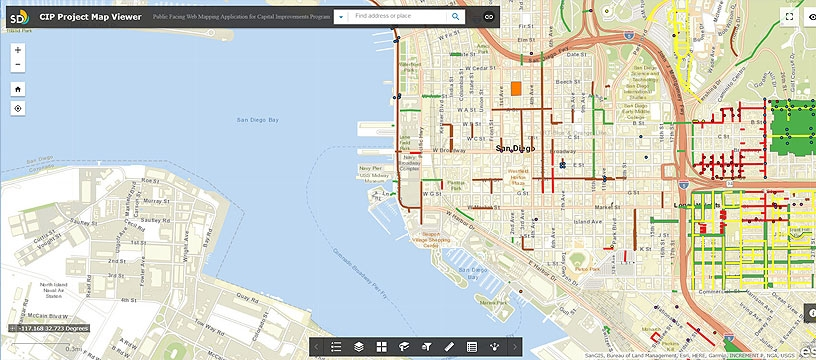 Capital Improvements Program Project Map Viewer
