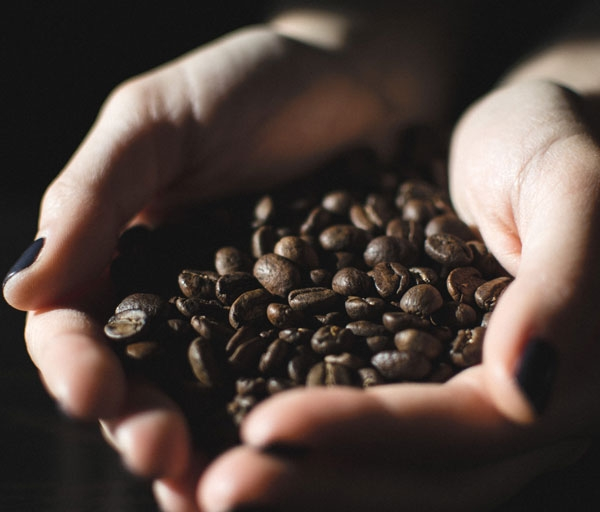 Photo of coffee roasted coffee beans