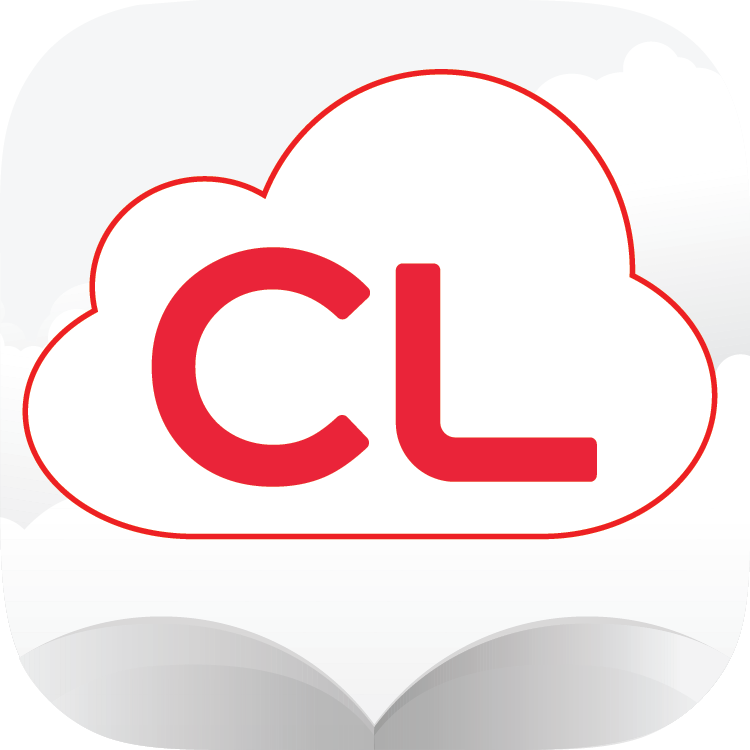 Cloudlibrary app logo