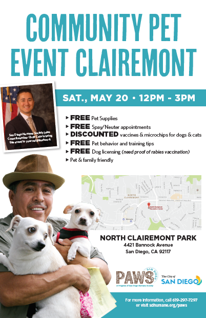 Community Pet Event - Clairemont