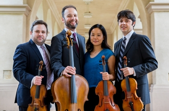 Hausmann Quartet - Isaac Allen, violin; Bram Goldstein, violin; Angela Choong, viola; Alex Greenbaum, cello