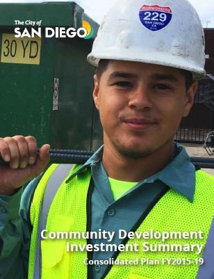 Cover Community Development Investment Summary FY2015-19