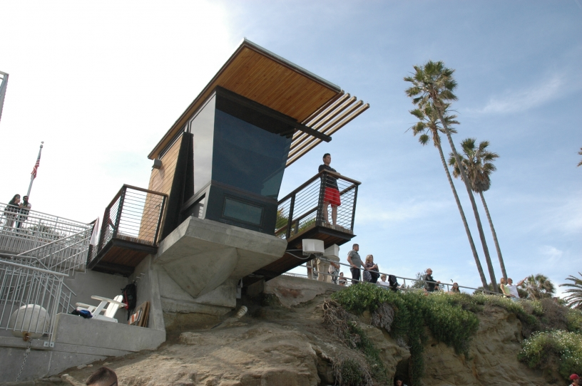 Photo of La Jolla Cove LIfeguard Tower