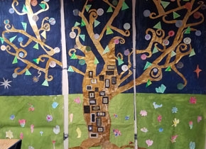 """Tree of Life"" by students at Innovations Academy"
