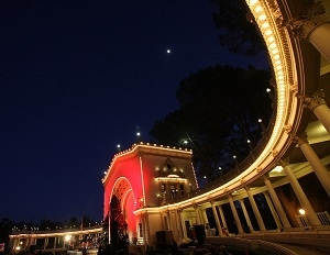 Balboa Park Pavilion at December Nights